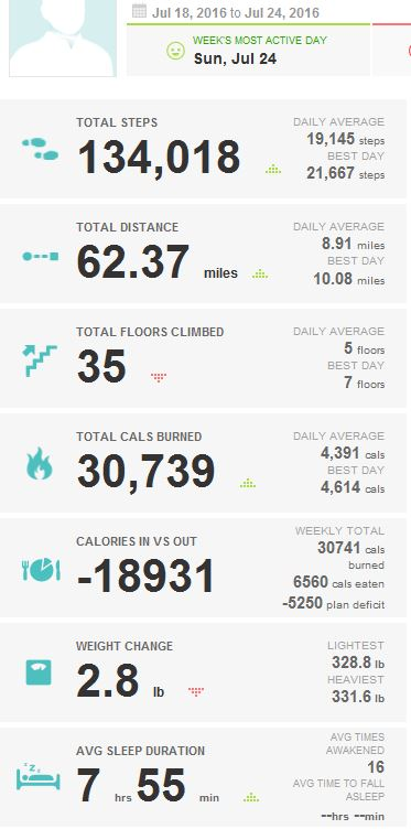 2016-07-24_KUHN_WEIGHT_LOSS_FITBIT_REPORT