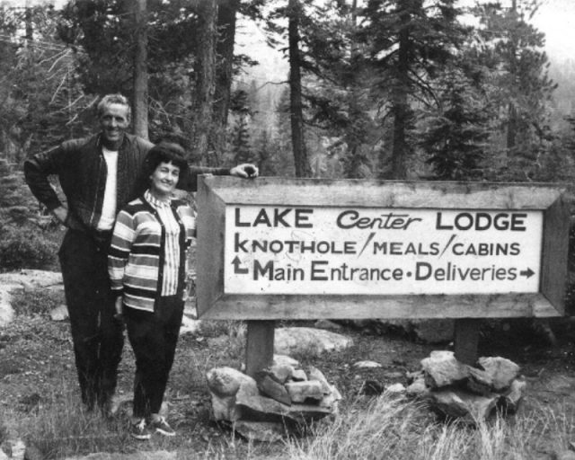William John (Bill) & Anita Taylor at their Lodge
