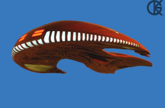 Star Trek TNG Ferengi Marauder #1