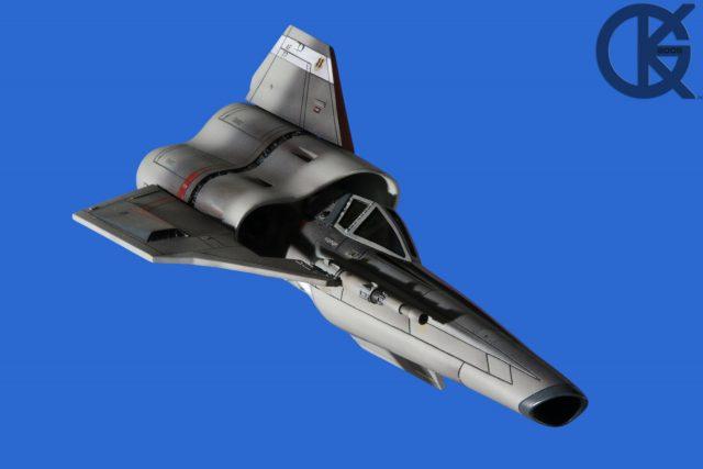 Galactica Continuation Studio Scale Viper #1 Blue Screen Photos