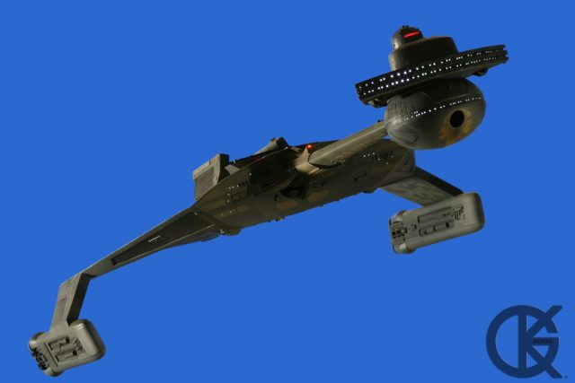 1:350 Star Trek The Motion Picture Klingon K\'Tinga (Photo Set 1)