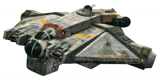 Star Wars Rebels - GHOST Screen Caps