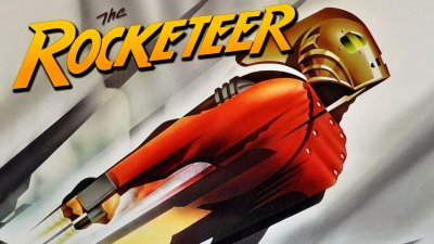 The Rocketeer Blue Screen Photos