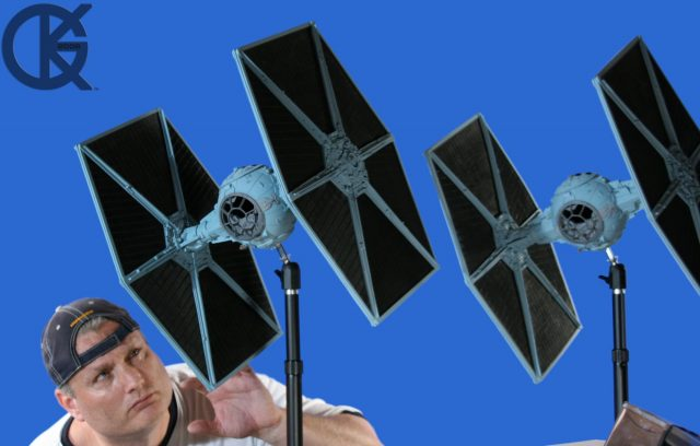 Studio Scale TIE Fighters