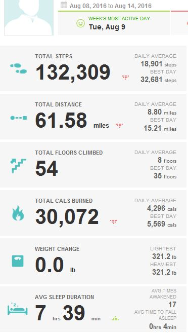2016-08-14_KUHN_WEIGHT_LOSS_FITBIT_REPORT