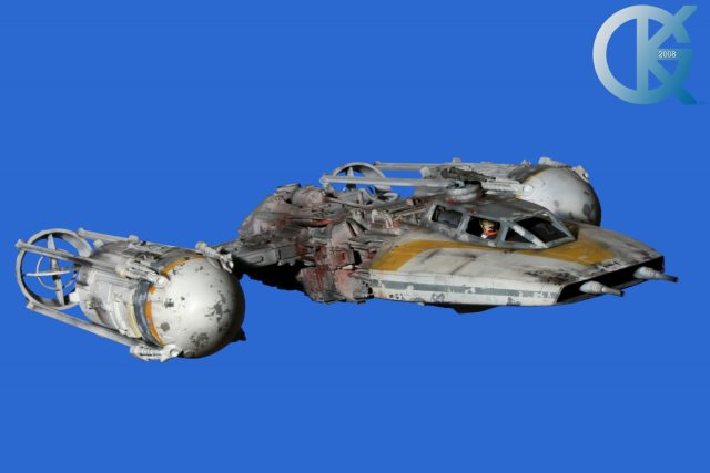 Studio Scale Y-Wing GOLD Leader Replica