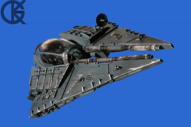 Darth Vader ETA3 Fighter with Hyperdrive