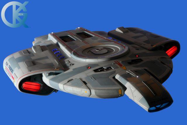 Studio Scale USS Defiant NX-74205