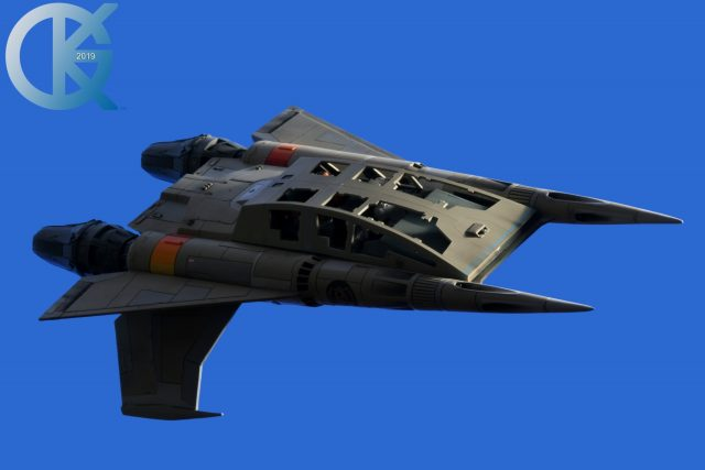 """Studio Scale """"Quad"""" Fighter"""