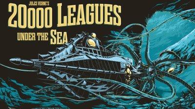 20,000 Leagues Under the Sea Blue Screen Photos