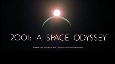 2001: A Space Odyssey Blue Screen Photos