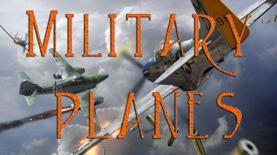 Military Planes Blue Screen Photos