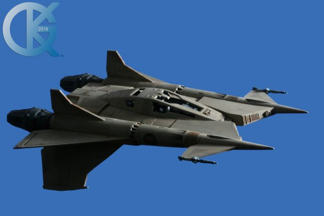 "Studio Scale ""Traeger's"" Thunderfighter"