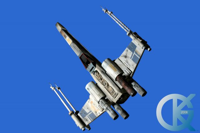 Studio Scale BLUE 7 X-Wing Fighter